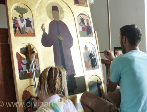 Icoane Sfantul Efrem cel Nou