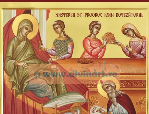 Icoana Nasterea Sfantului Ioan Botezatorul