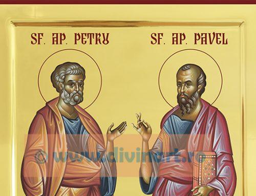 Icoana Sfintii Apostoli Petru si Pavel
