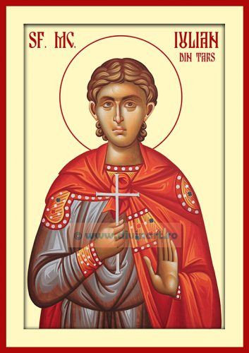 Icoana pictata Sfantul Mucenic Iulian din Tars