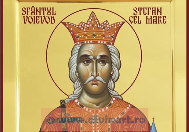Icoana Sfantul Voievod Stefan cel Mare